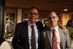 John Paolucci, AIM Board member with Gerard LaBarge, Director of Operations