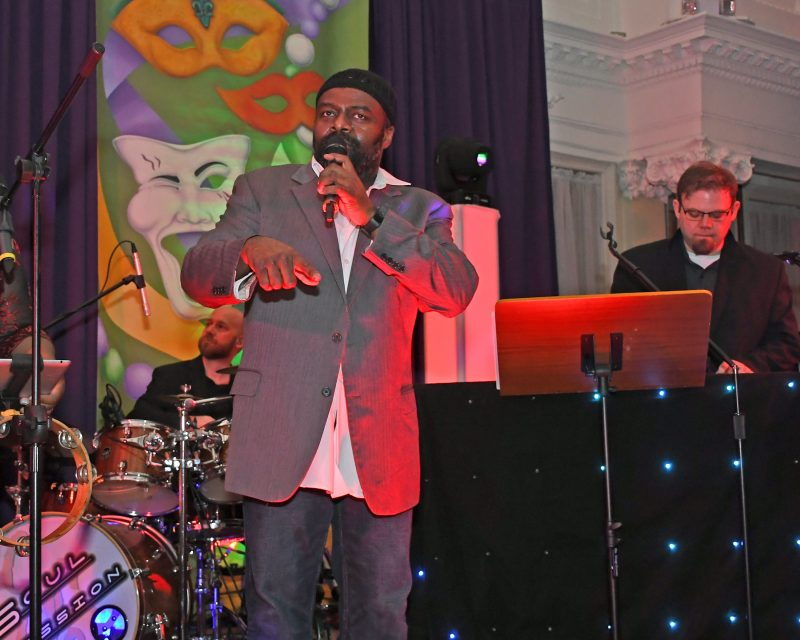 Garland Nelson and Soul Session perform
