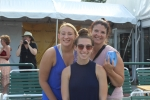 Group of three woman volunteering at the Saratoga Dog & Pony Show to benefit AIM Services, Inc.