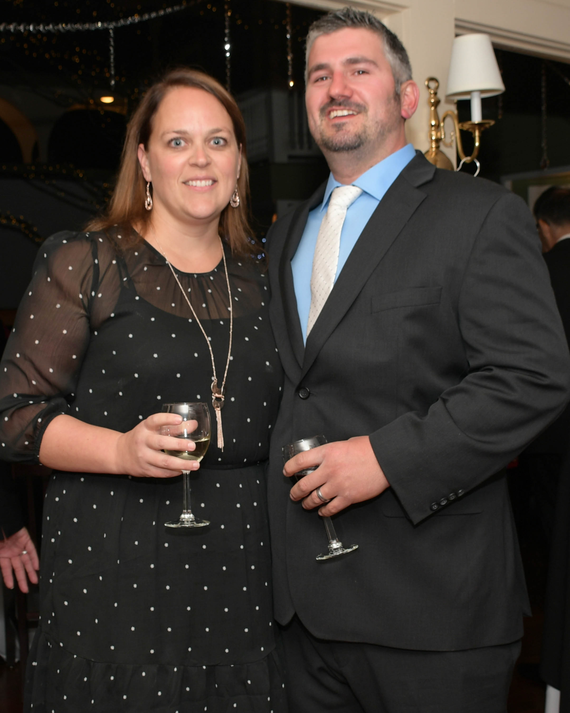 Vin Le Soir to benefit AIM Services, Inc. couple with wine