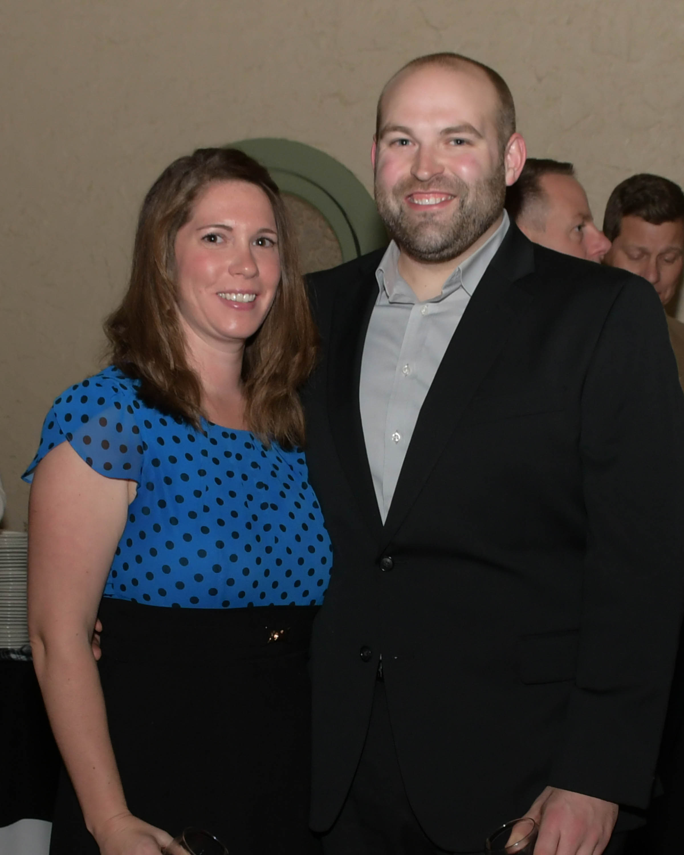 Vin Le Soir to benefit AIM Services, Inc. couple at event