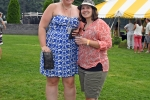 Two woman at AIM Services Croquet on the Green event