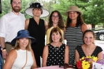 Beth Flynn and friends at AIM services croquet on the green event