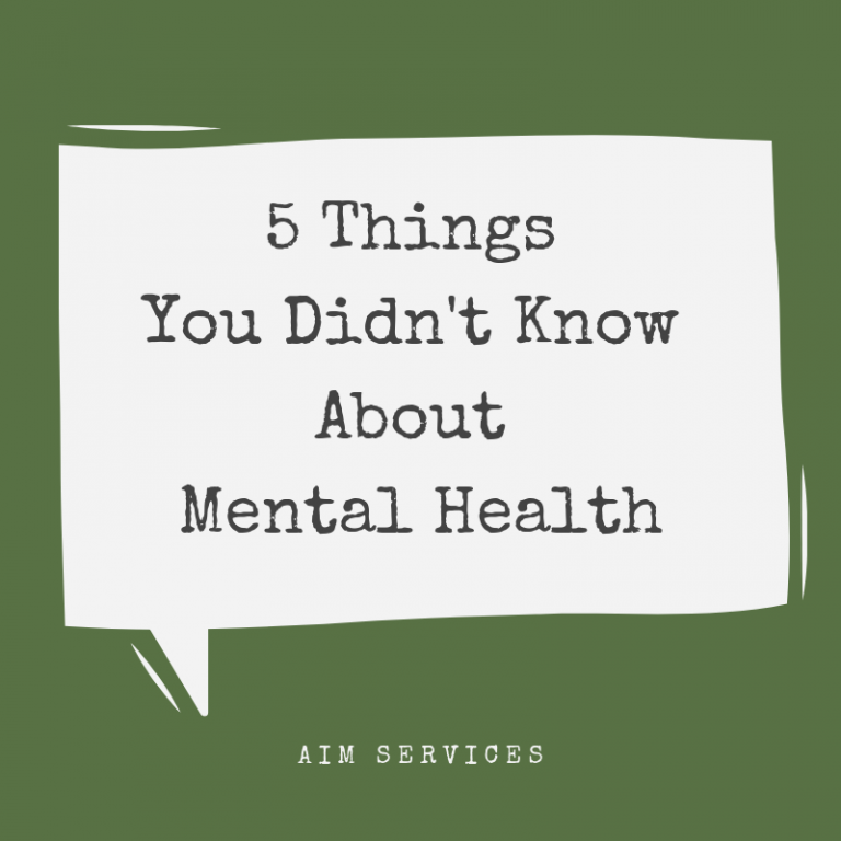5 Things You Didn't Know About Mental Health