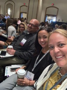 Katie Page and other presenters at APSE conference