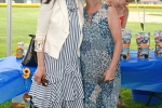 Natalie Sillery and woman smiling together at Croquet on the Green 2019