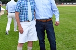 Two men together at Croquet on the Green 2019