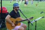 Thomas Powers playing at Croquet on the Green 2019