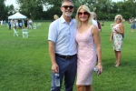 Gary Dake and Aimee Taylor at Croquet on the Green 2019