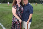 Board member Jim Norton and wife Alison at Croquet on the Green 2019