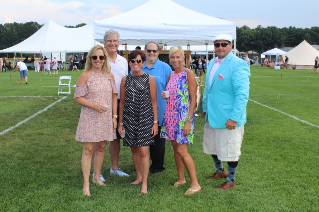 Pharmerica ChemX staff at Croquet on the Green 2019