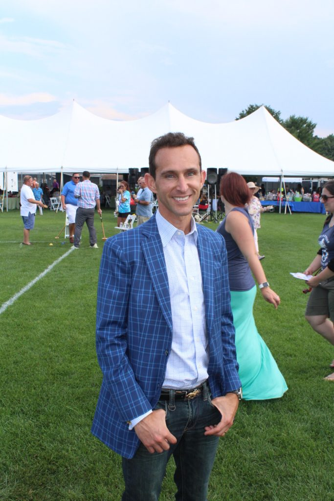 Ramon Dominguez at Croquet on the Green 2019