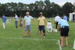 Group of people playing croquet at Croquet on the Green 2019