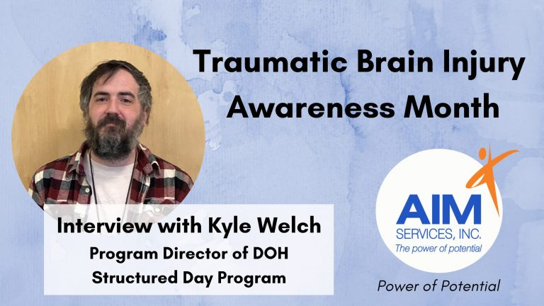 Kyle Welch on Traumatic Brain Injury Awareness Month